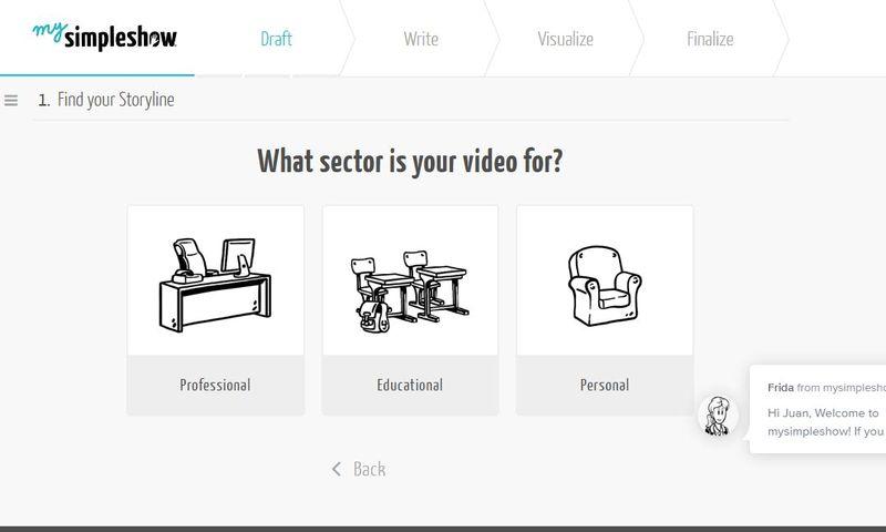 mysimpleshow - crea vídeos online