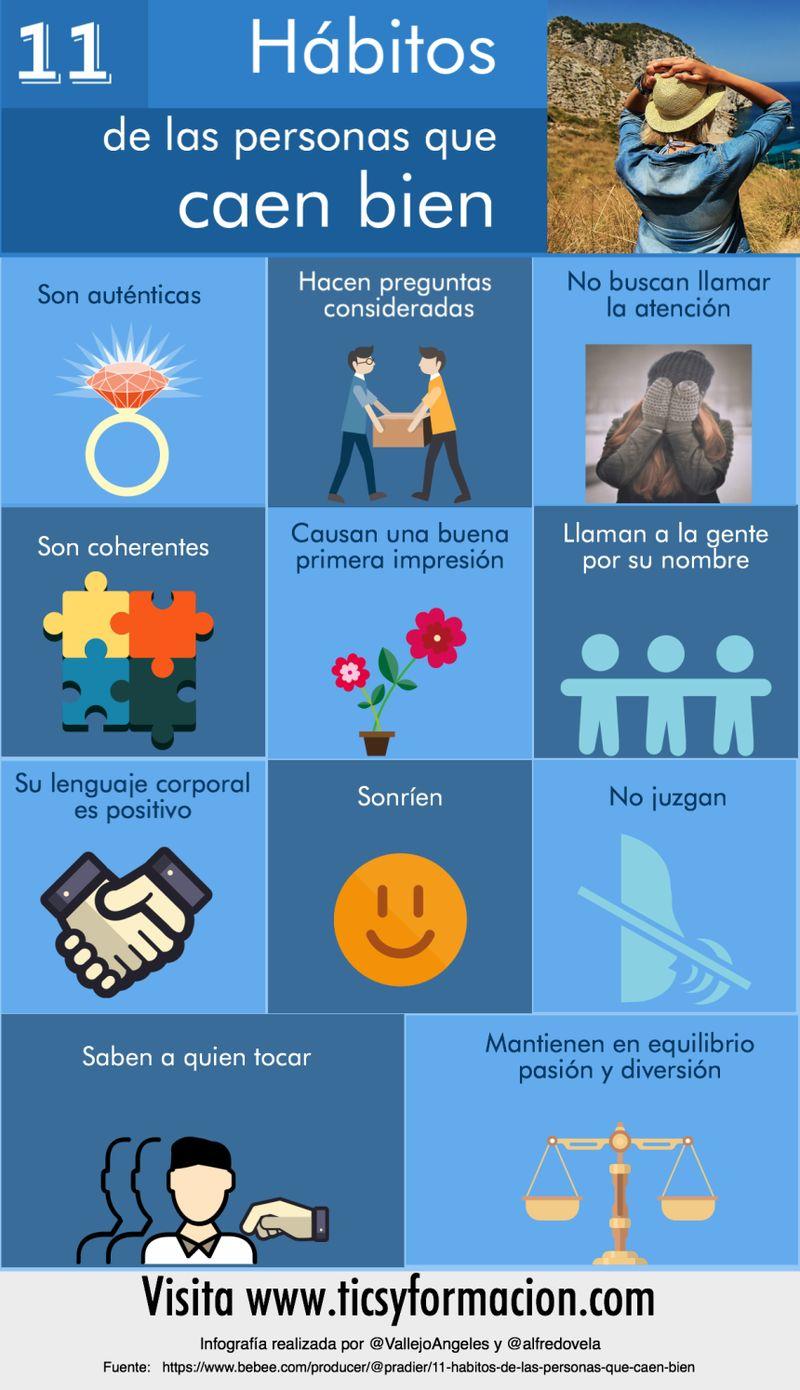 11 particularidades que comparten las personas que caen bien