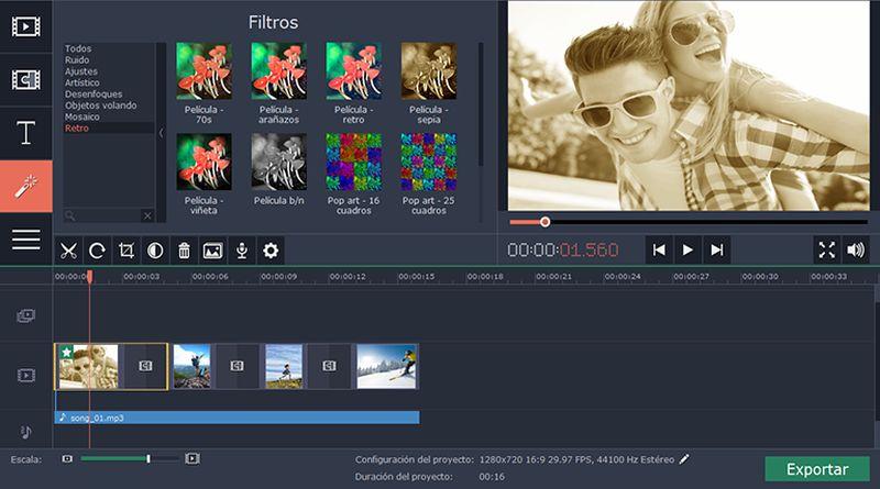 Cómo hacer vídeos profesionales fácilmente con Movavi Video Suite