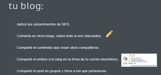 Cómo promocionar un Blog con 32 fantásticas ideas