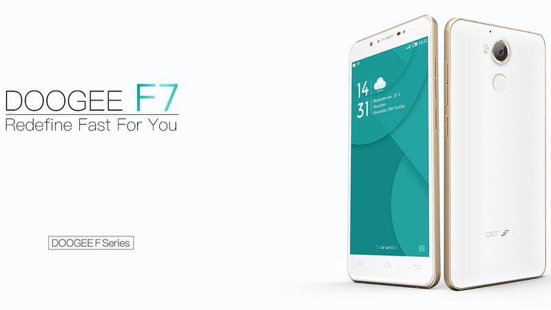Impresionante smartphone Doogee F7 se presentará durante este mes