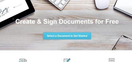 Aplicación web para editar PDF, crear documentos y firmar documentos