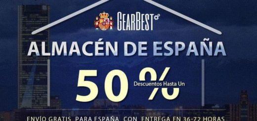 Gearbest envío desde España ya disponible (y con descuentos)