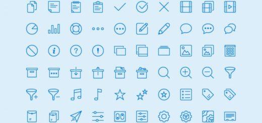 Lynny Icons: pack compuesto por 450 iconos gratuitos variados