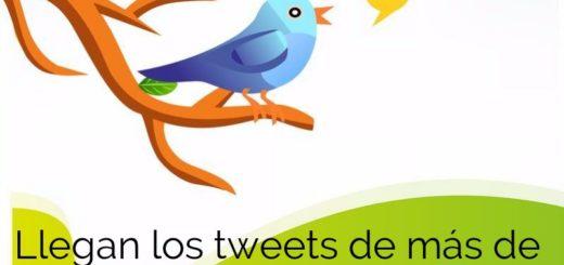 Tweets más largos en Twitter a partir del próximo día 19