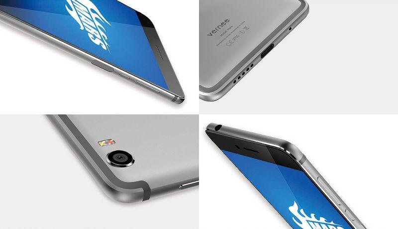 Vernee Mars: nuevo smartphone con cuerpo metálico y 4 GB de RAM