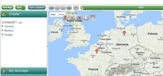 Animaps: crea mapas informativos, animados e interactivos