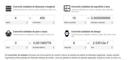 Convertidor de unidades online, completamente gratuito y sin registro