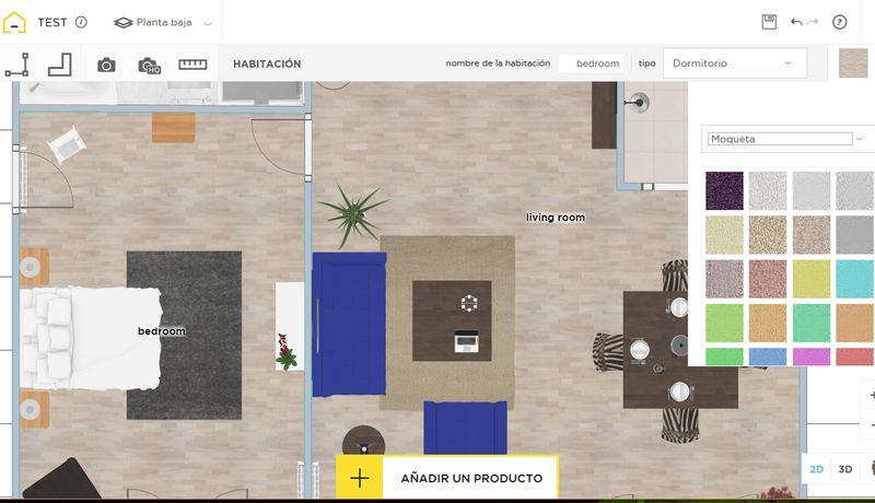 Homebyme genial web para dise ar planos de viviendas e for Interiores de viviendas