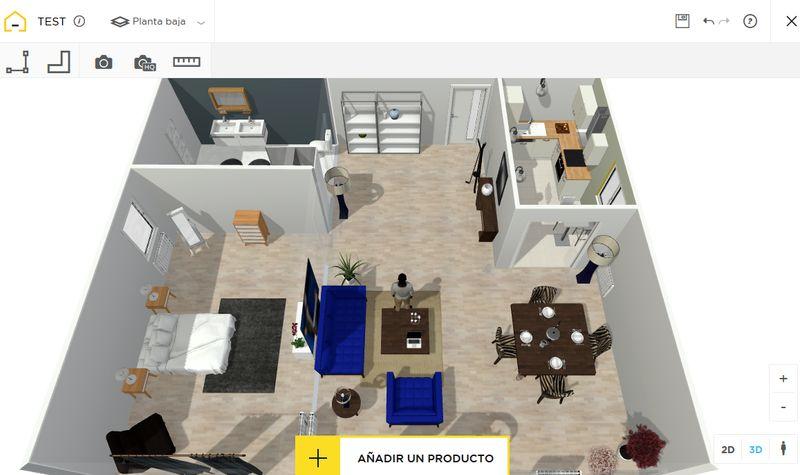 Homebyme genial web para dise ar planos de viviendas e for Aplicacion para planos
