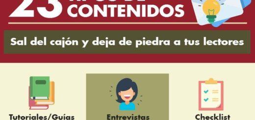 23 ideas para crear contenidos interesantes para tu Blog
