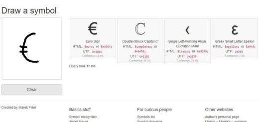 Mausr: dibuja signos, símbolos y emojis para conocer todo sobre ellos