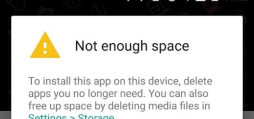 Nuevas recomendaciones de Google Play para la falta de espacio
