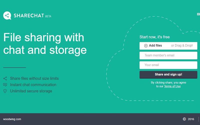 Sharechat: almacenamiento ilimitado para compartir archivos