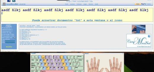 Aprende y practica Mecanografía con este software gratuito