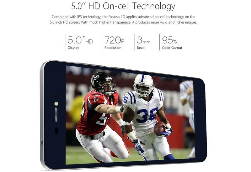 Bluboo Picasso: muy buen smartphone por unos 70 euros