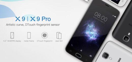 Comparativa de smartphones a buen precio: Doogee X9 Pro vs X9 Mini