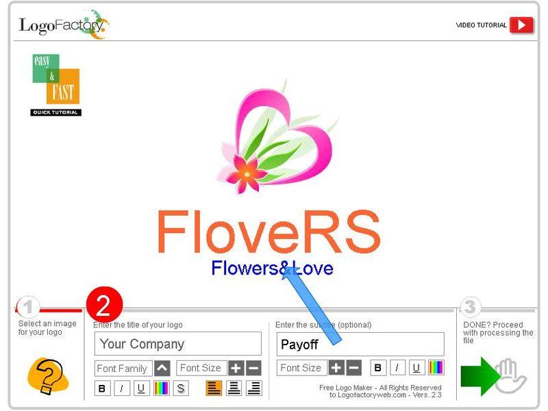 Logo factory aplicaci n web gratis para crear logotipos for Logo de empresa gratis