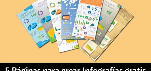 5 páginas para crear infografías gratis y de forma sencilla