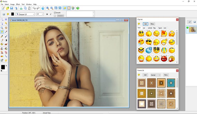 PhoXo: software gratuito, ligero y muy completo para edición de Imágenes