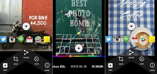 Crear imágenes con frases desde tu smartphone con Quick