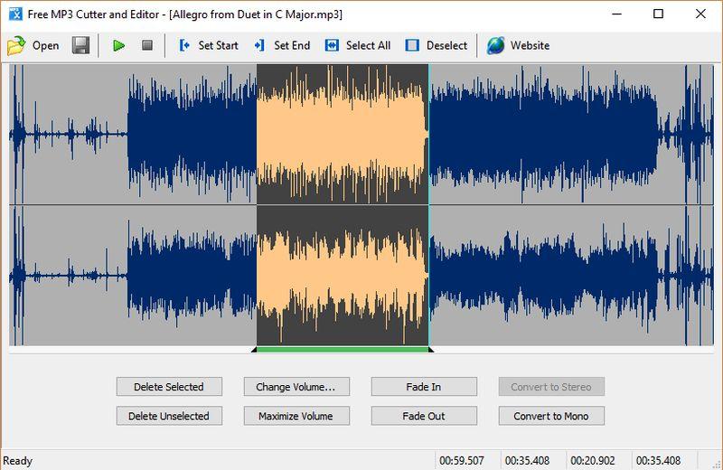 Software gratuito para cortar audio y realizar otras tareas de edición