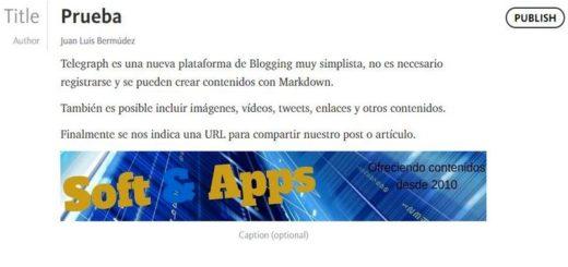 Telegraph: llega la plataforma de Blogging más minimalista