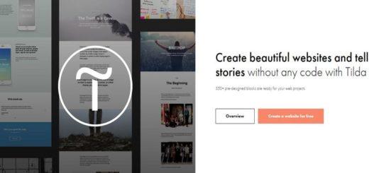 Tilda: crea gratis tu página web sin ser programador