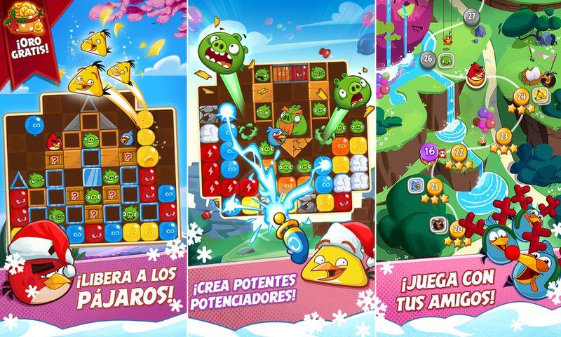 Angry Birds Blast Nuevo Juego De Los Pajaros De Rovio Estilo Candy