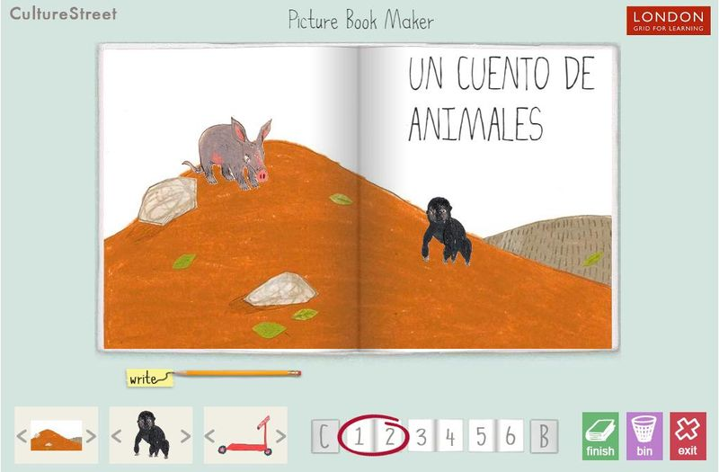 Aplicaciones web para crear cuentos CultureStreet 3 aplicaciones web para crear cuentos infantiles e historias