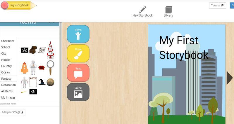 Aplicaciones web para crear cuentos My Storybook 3 aplicaciones web para crear cuentos infantiles e historias