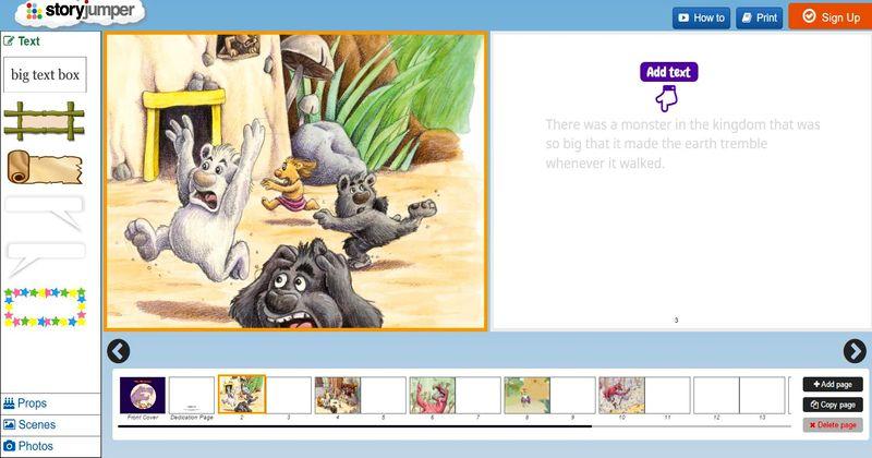 Aplicaciones web para crear cuentos StoryJumper 3 aplicaciones web para crear cuentos infantiles e historias