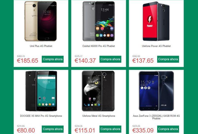 Mega ofertas en smartphones, informática y electrónica en general