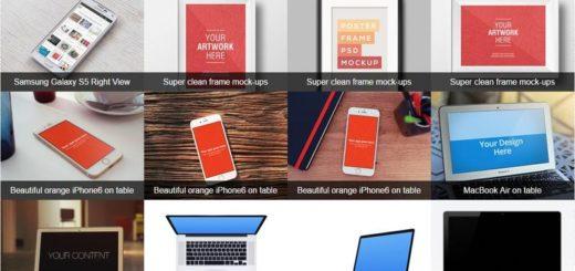 MockupsJar: crea elegantes imágenes para presentar tus apps y webs