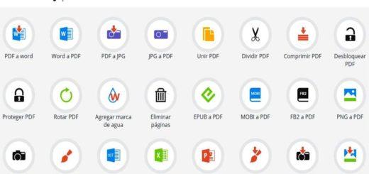 PDF Candy: 24 utilidades web gratuitas para convertir documentos PDF