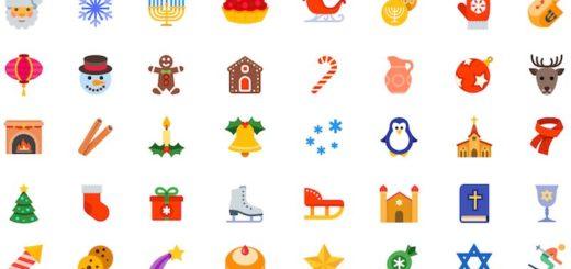 40 iconos navideños gratis disponibles en varios formatos