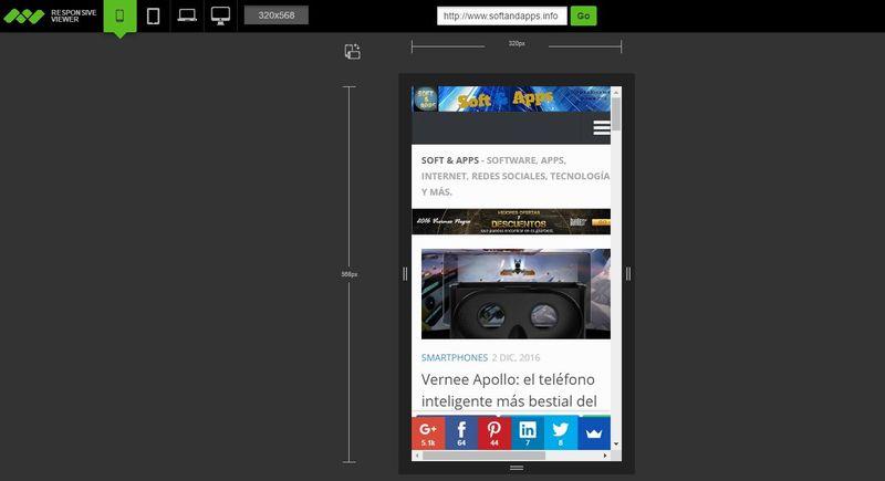 5 páginas gratis para probar como se ve una web en distintos dispositivos