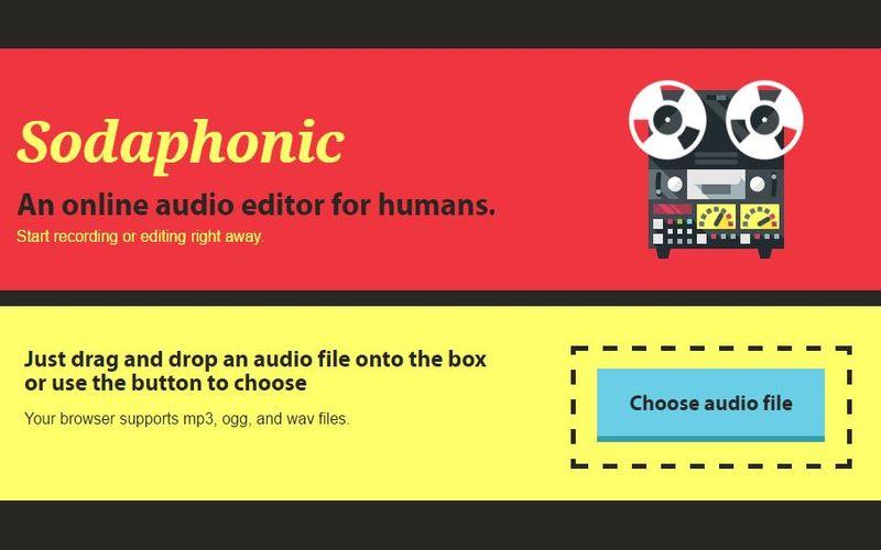 Sodaphonic Sodaphonic: editor de audio online gratuito que te va a gustar