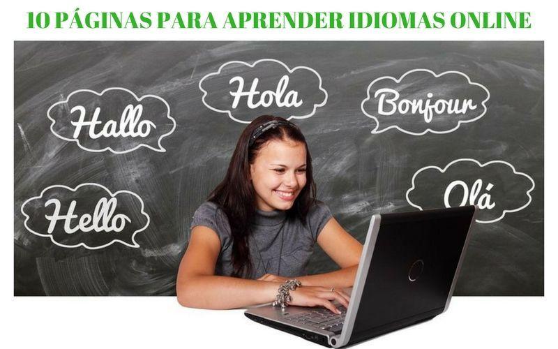 10 buenas páginas para aprender idiomas online y gratis