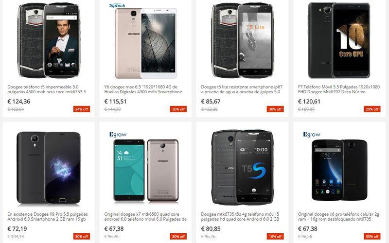 Doogee y Aliexpress Doogee y Aliexpress, para conseguir los mejores teléfonos al mejor precio