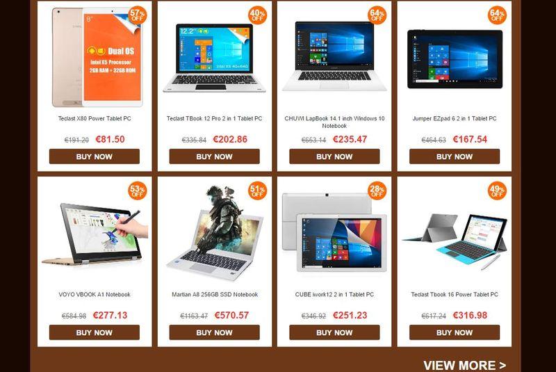 Grandes ofertas en gadgets y electrónica con cupones de descuento