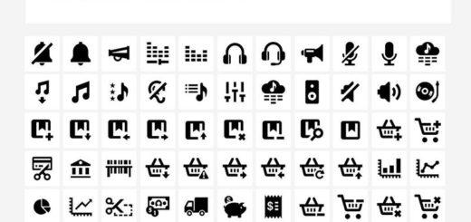 Genial pack con 665 iconos gratuitos para Diseñadores Web