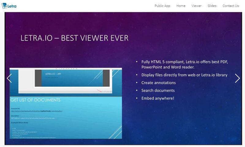 letra aplicación web que convierte documentos ppt word y pdf a