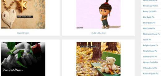 Crear imágenes con citas gratis y online en MyQuotePix