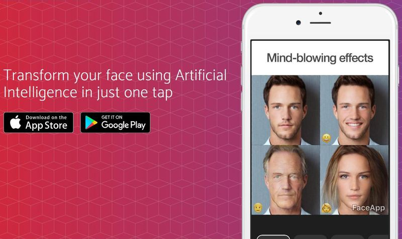 FaceApp: app móvil para modificar tu rostro por medio de Inteligencia Artificial
