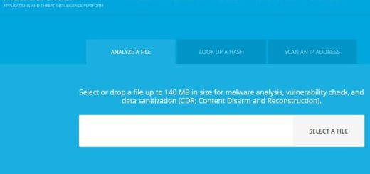 Metadefender Cloud: aplicación web gratuita para analizar archivos en busca de virus