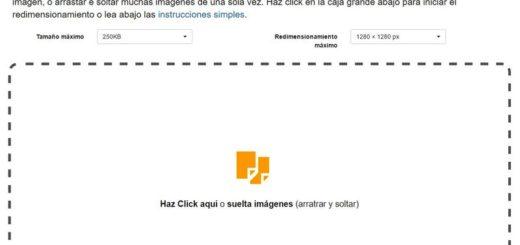 Redimensionar imágenes online y gratis con Easy Resize