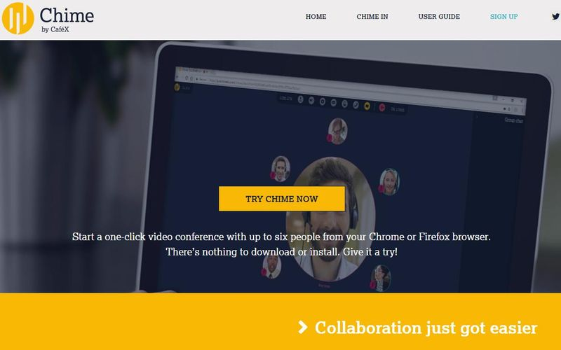 Aplicación web para videoconferencia Chime Aplicación web para videoconferencia, compartir archivos y mucho más
