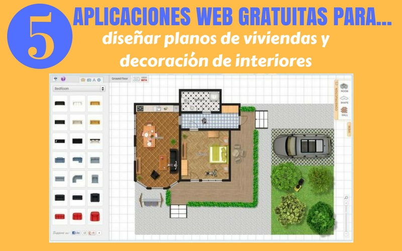 Crear planos y dise os de casas gratis con estas 5 for Software decoracion interiores 3d gratis
