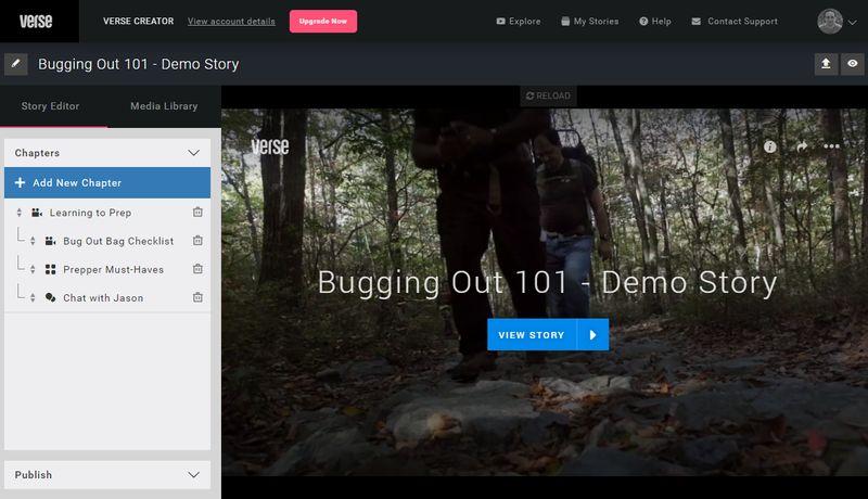 Crear vídeos interactivos online y gratis con Verse. ¿No vas a probar?
